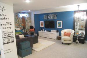25+ Paint Color Ideas for the Basement