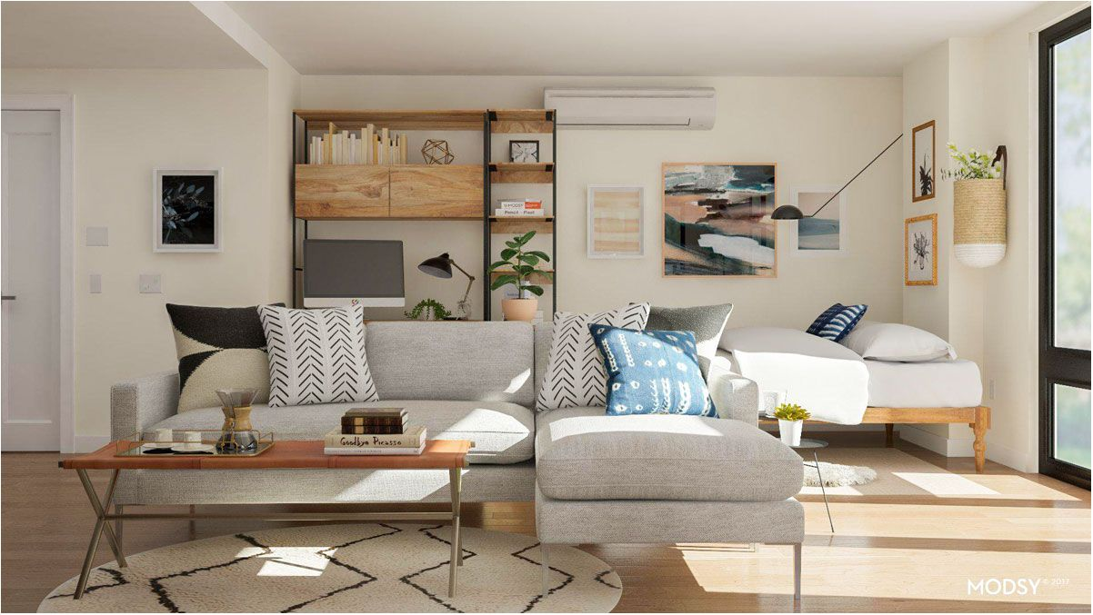 Fantastic studio apartment layout ideas two ways to - Studio apartment furniture layout ...