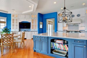 5 Best Blue Kitchen Cabinets Ideas