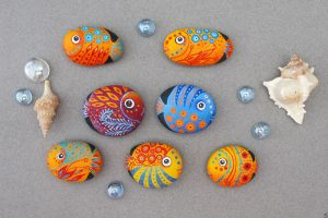 25 Best Fish Painted Rocks Ideas