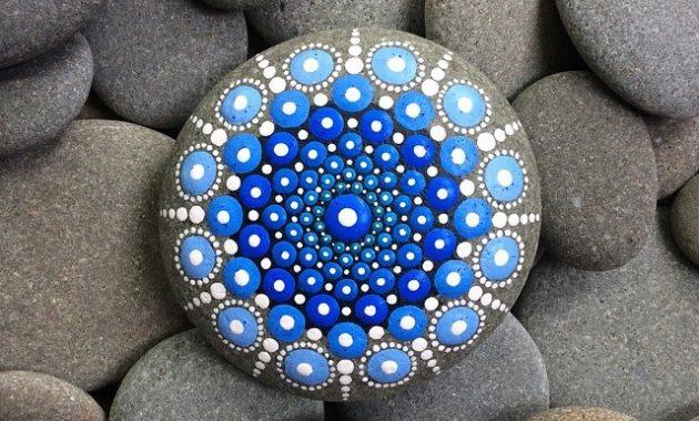 DIY Mandala Rock Painting   How to Make It