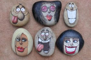 30 Best Painted Rock Faces Ideas