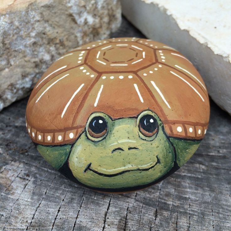 Best Turtle Painted Rock Ideas