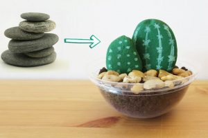 30 Best Cactus Painted Rocks Ideas
