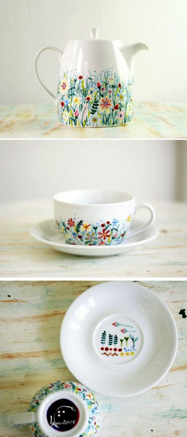 Hand Painted Ceramic Plates Diy