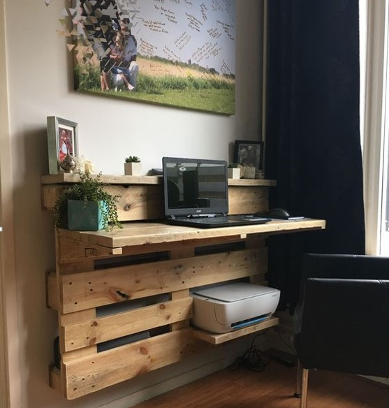 Inspiration to Build Your Own Computer Desk!