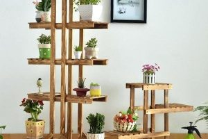 20 Inexpensive DIY Plant Stand Ideas