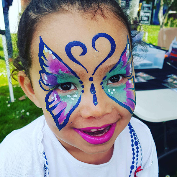 50+ Easy Face Painting Ideas for Kids Images