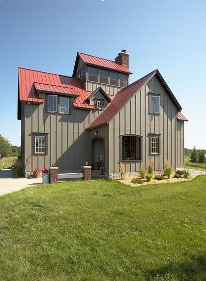 Stunning Metal House Ideas
