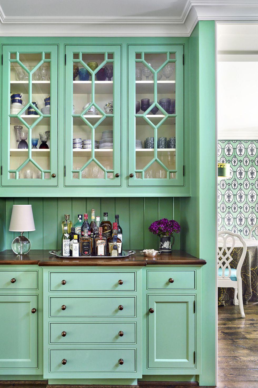 5 Best Green Kitchen Cabinets Ideas