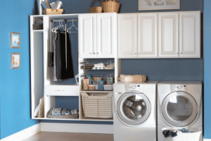 5 Creative Basement Laundry Room Design for Small Space
