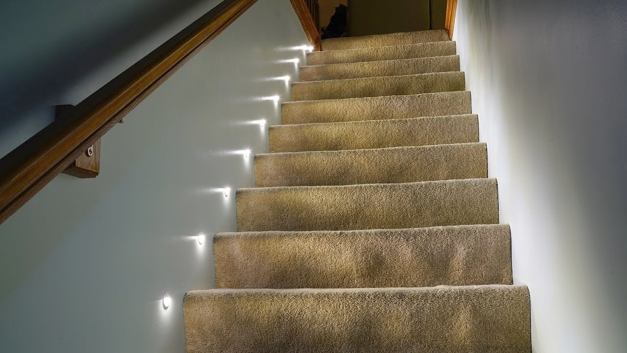 Amazing Lights for Stairways