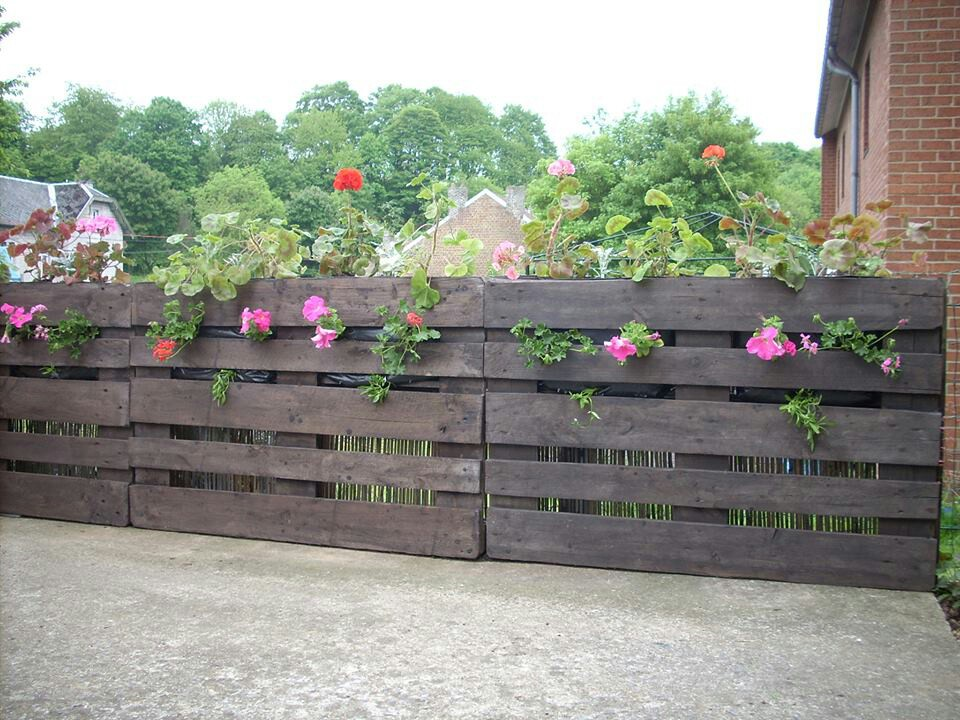 Pallet Fence Ideas design ideas