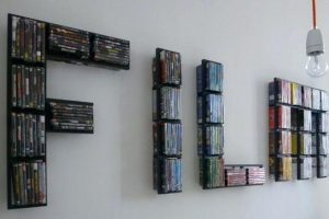 8 Best DVD Storage Ideas for Small Space
