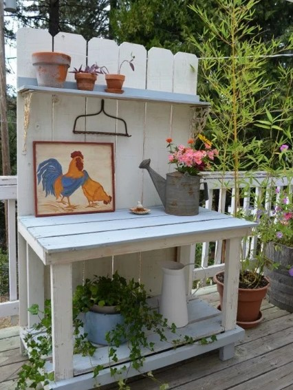 Beautiful what is a potting bench #pottingbenchideas #benchdesign #pottingbench #benchideas