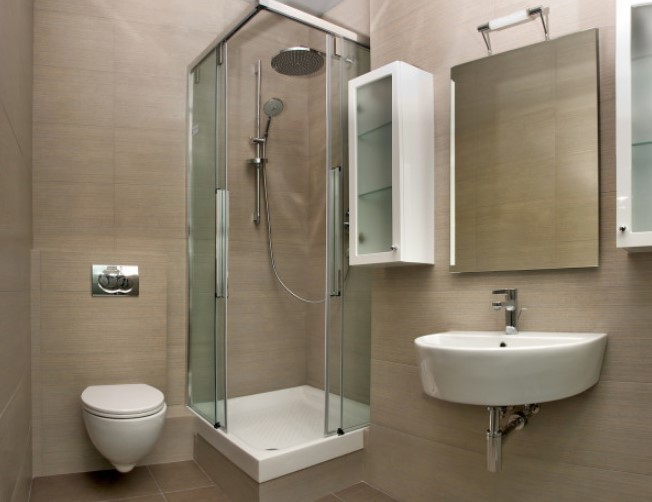 impressive very small shower room #halfbathroomideas #halfbathroom #bathroomideas #smallbathroom