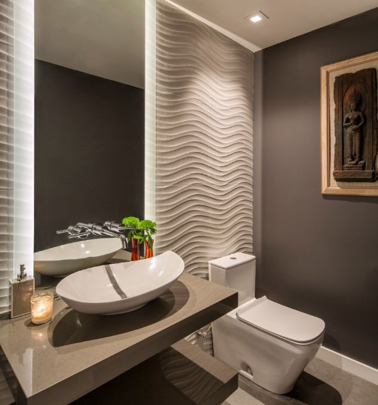 alarming unique half bathroom ideas #halfbathroomideas #halfbathroom #bathroomideas #smallbathroom
