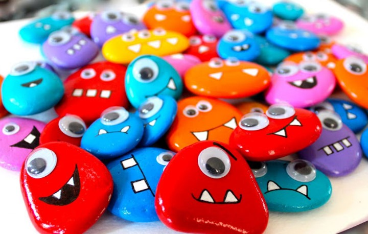 50 Best Painted Rocks Ideas Weapon To Wreck Your Boring Time Images