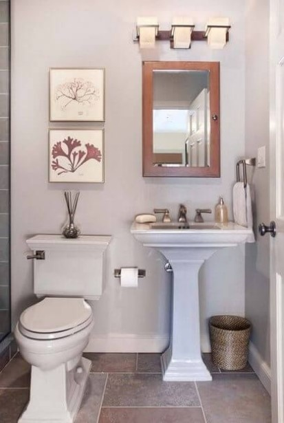frightening toilets and sinks for small bathrooms #halfbathroomideas #halfbathroom #bathroomideas #smallbathroom