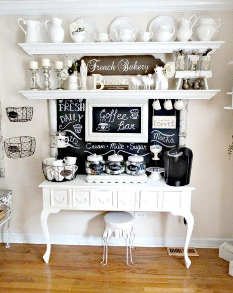 horrible tray for coffee station #coffeebar #barideas #coffeestation #coffeebarideas