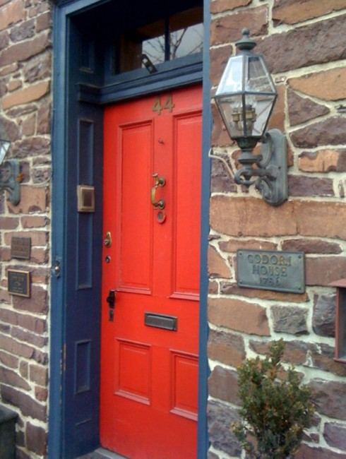 Strange 50 Best And Popular Front Door Paint Colors For 2019 Images Door Handles Collection Olytizonderlifede