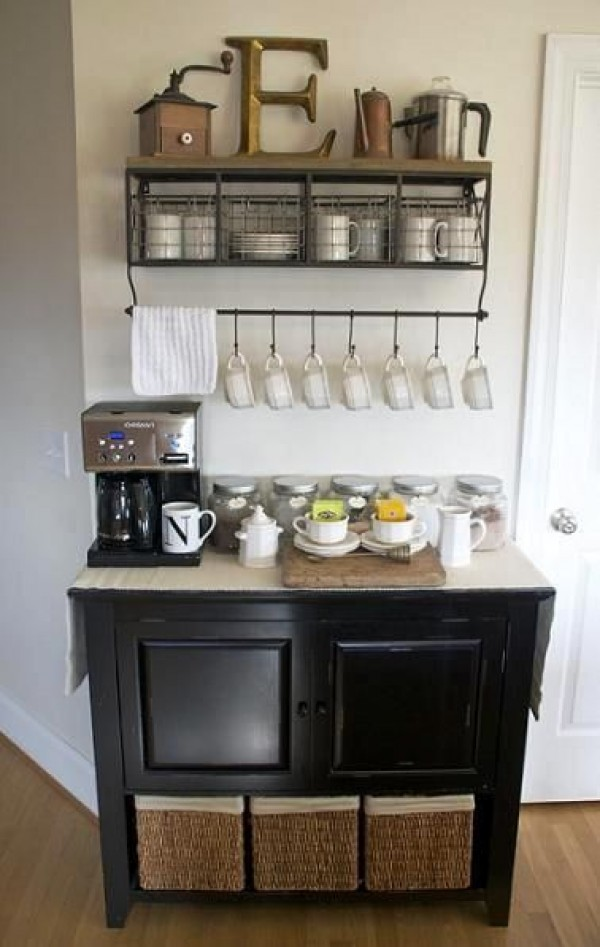 Fascinating wedding coffee bar #coffeebar #barideas #coffeestation #coffeebarideas