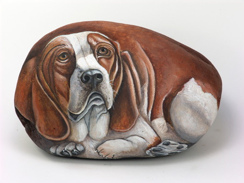 magnificent stone painting animals #animalpaintedrock #paintedrock #rockpainting #animalstoneart
