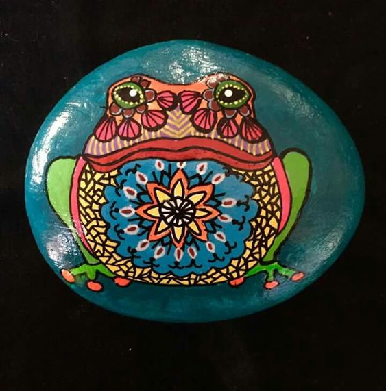 wondrous what kind of paint do you use on rocks #animalpaintedrock #paintedrock #rockpainting #animalstoneart