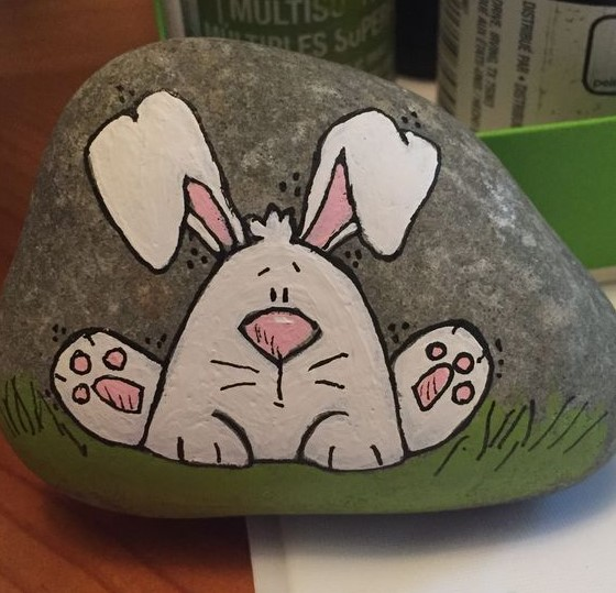 Beautiful where to buy pebbles to paint #animalpaintedrock #paintedrock #rockpainting #animalstoneart