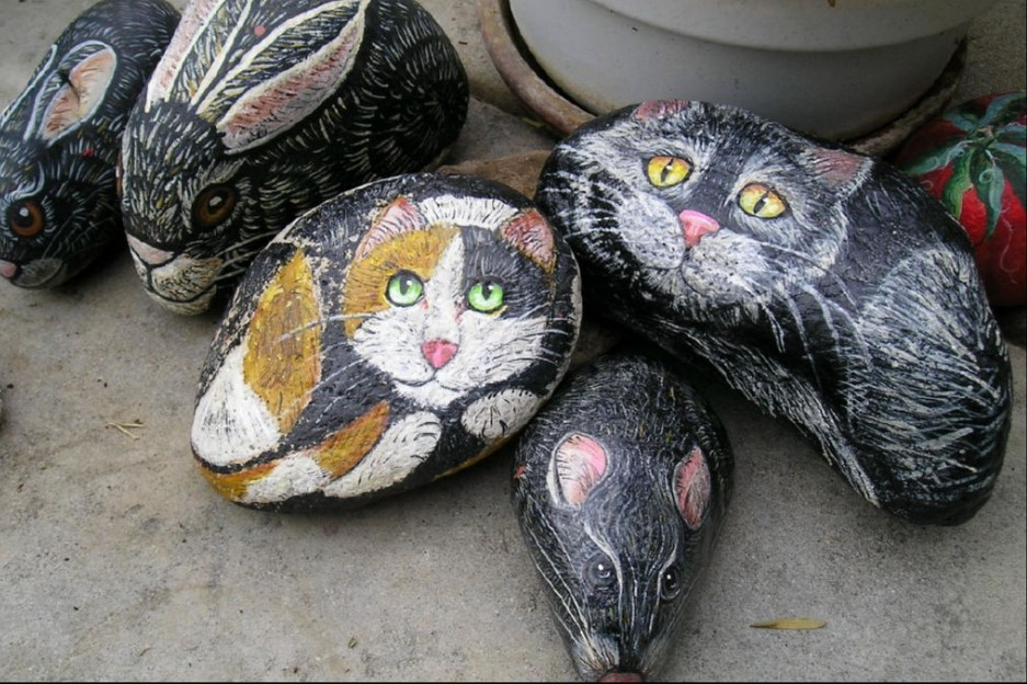 Best where to get rocks to paint #animalpaintedrock #paintedrock #rockpainting #animalstoneart