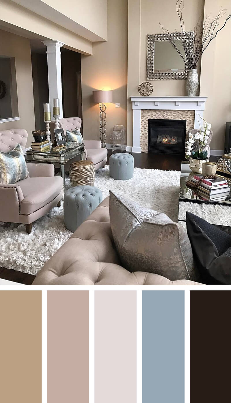 50 Living Room Paint Color Ideas For The Heart Of The