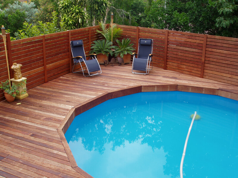 Best Above Ground Pools with Decks design ideas