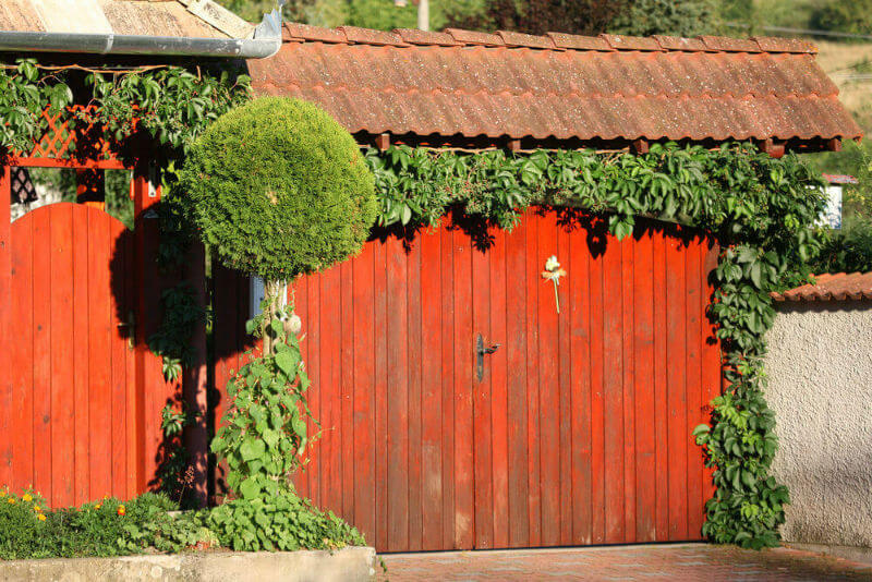 Best Privacy Fence Ideas for Residential Homes #profacyfence #fenceideas