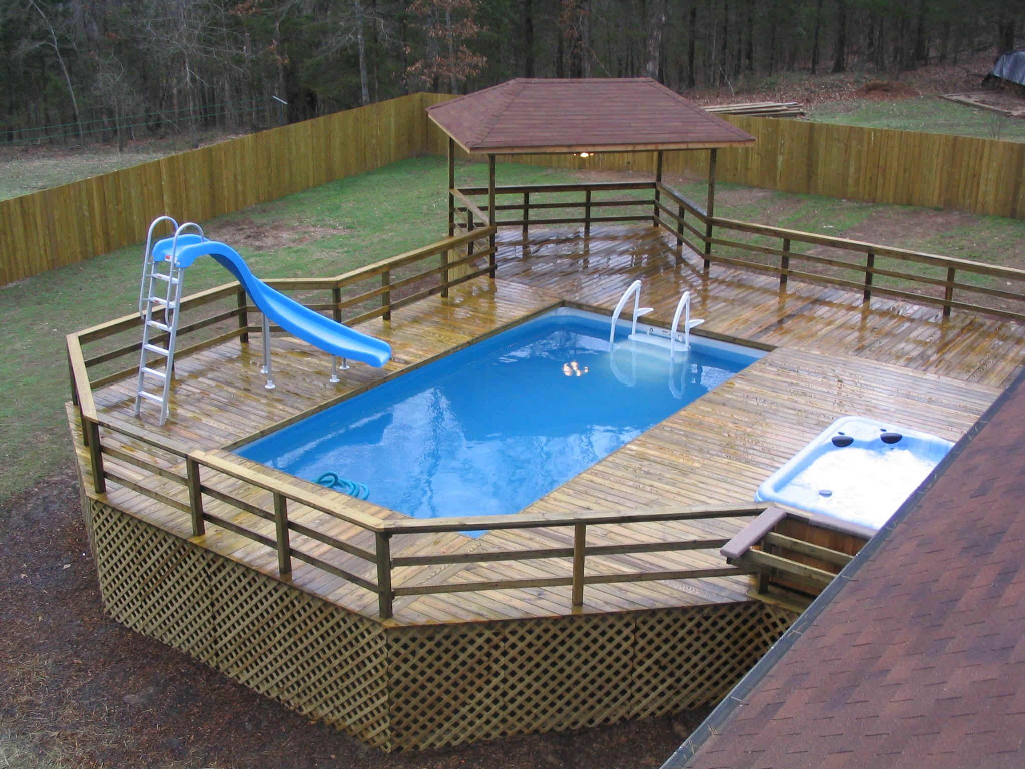 50 Best Above Ground Pools with Decks