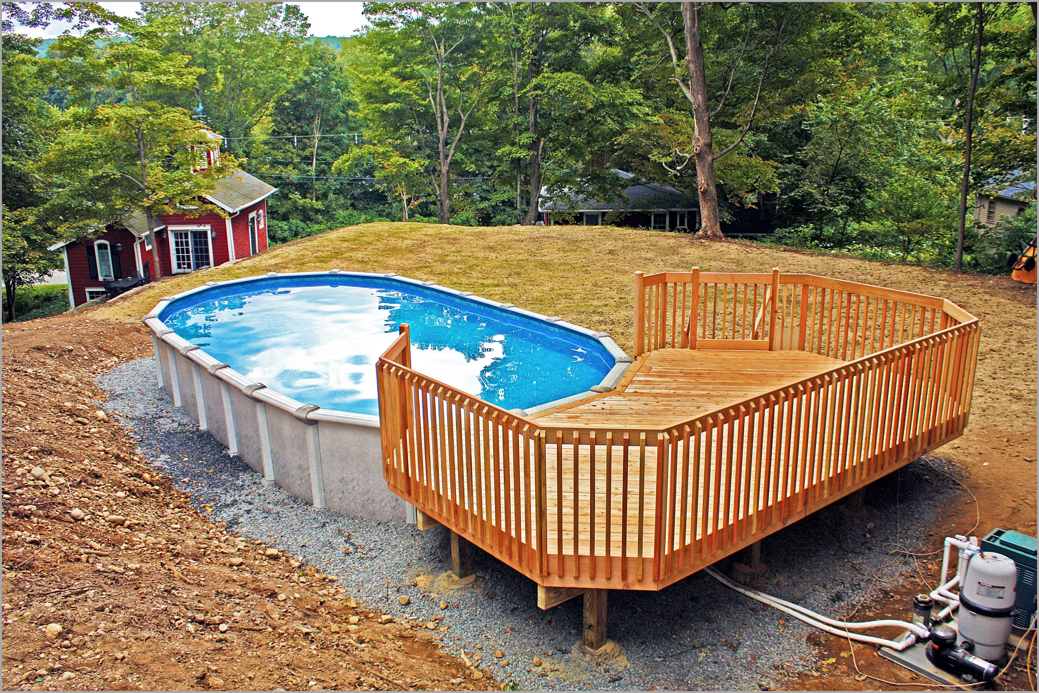 Complete Above Ground Oval Pool Sizes Decorative 582737