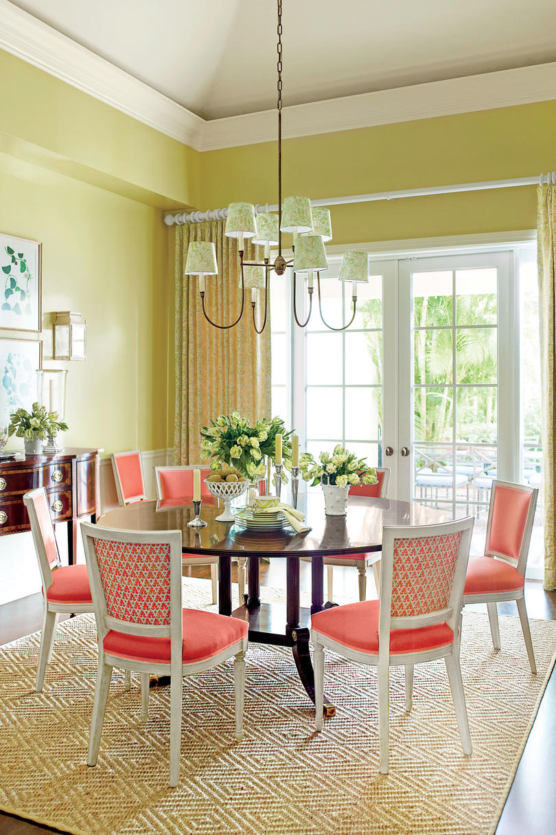 shining-inspiration-southern-living-dining-rooms-stylish ...