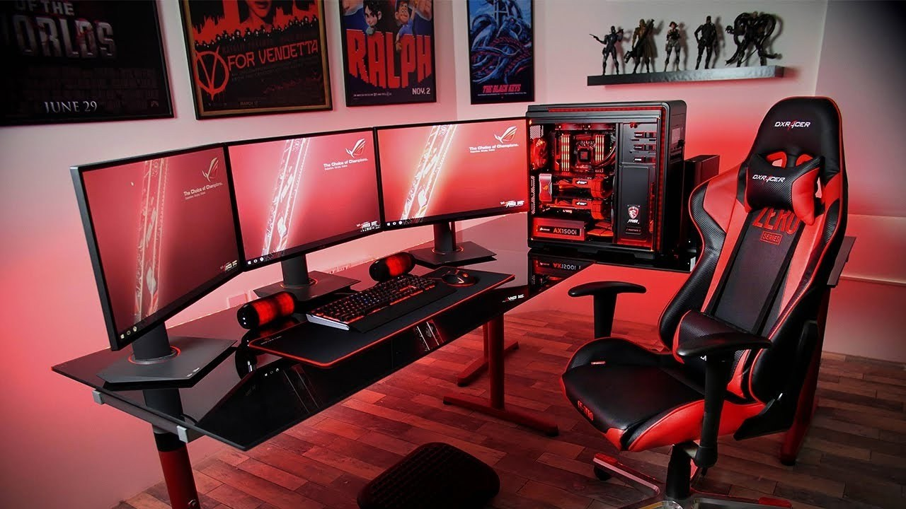 10 video game room ideas to maximize your gaming experience video game room ideas to maximize your gaming experience solutioingenieria Image collections