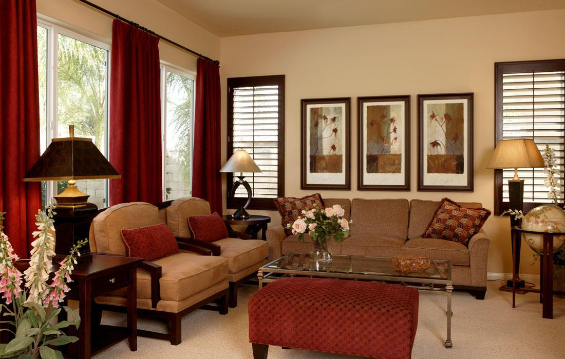 Warm Living Room Colors Decorating With Colours House Decor Picture