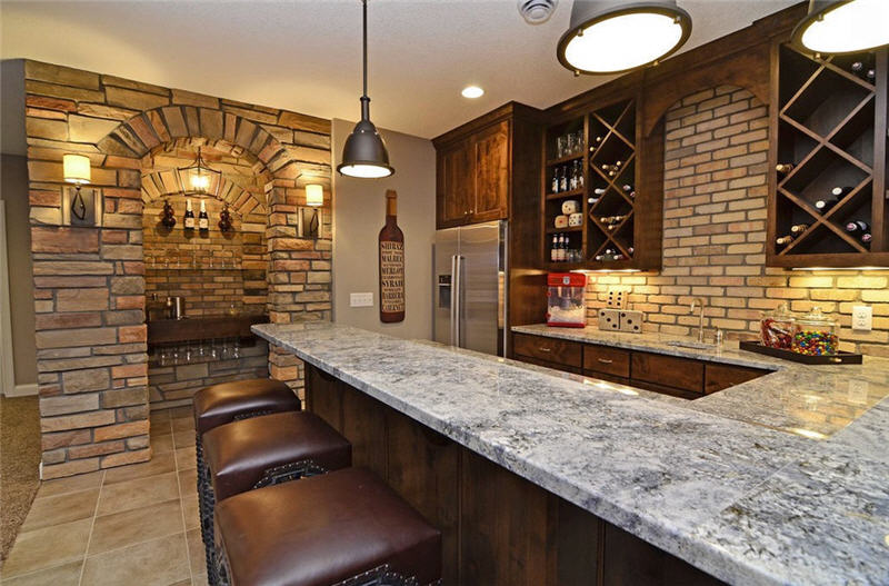 Basement Bar Ideas for Home Escaping and Having Fun