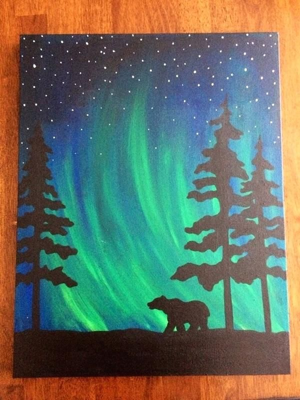 50 Easy Canvas Painting Ideas For Beginner Images