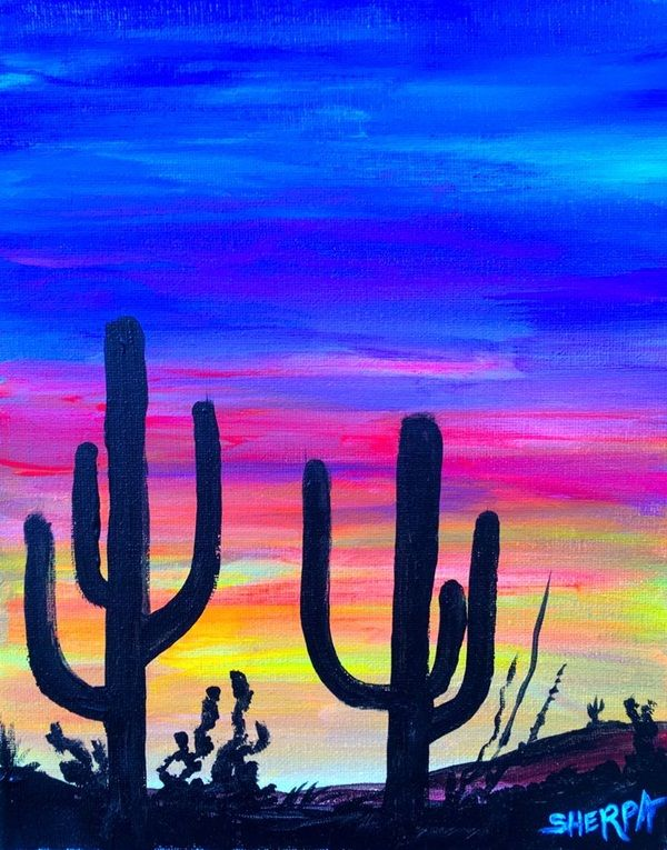 Simple Cool Painting Ideas For Beginners