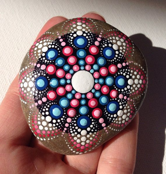 Mandala Rock Painting | How to Make It