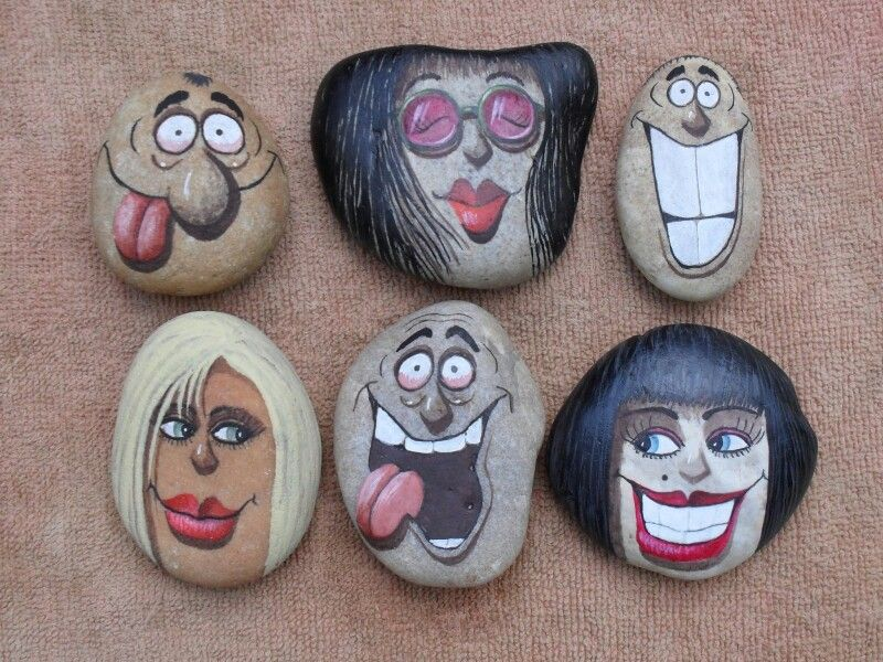 Best Painted Rock Faces Ideas