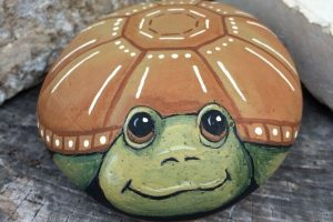 25 Best Turtle Painted Rock Ideas