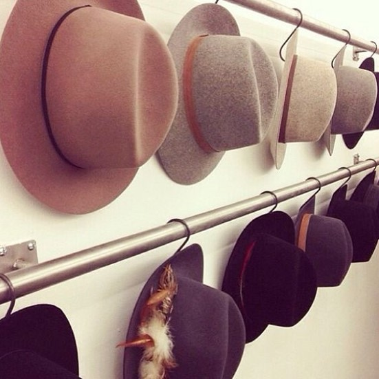 Easy DIY to Organize Your Hats | Hat Rack Ideas