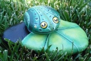 25 Best Painted Frog Rocks Ideas
