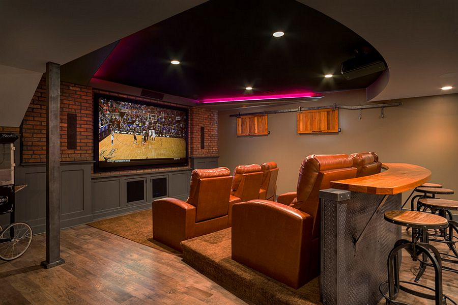 5 Amazing Basement Home Theater Ideas
