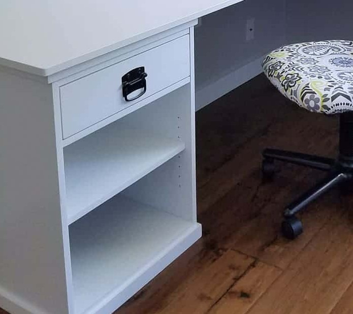 DIY L Shaped Desk