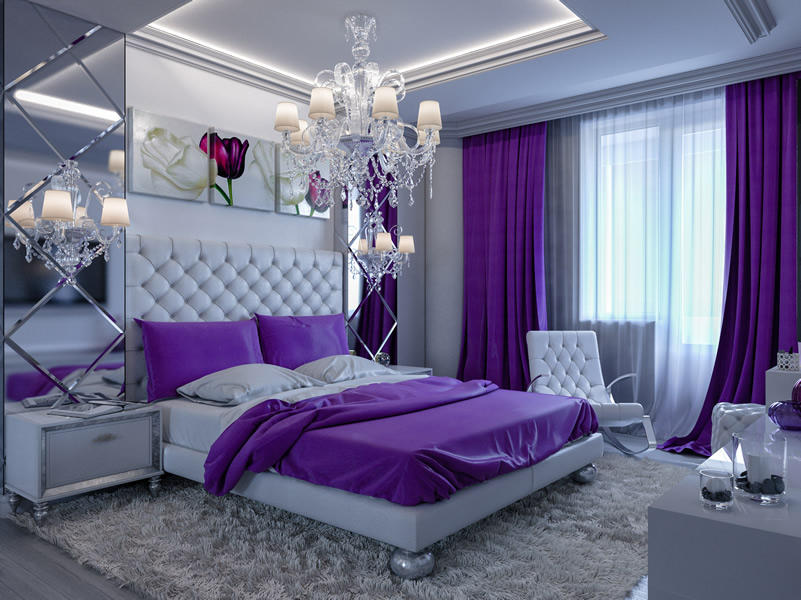 Best Purple Bedroom Design For Your Inspiration
