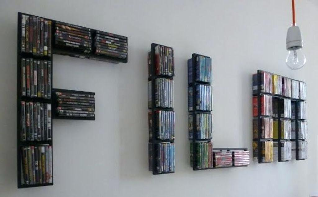 Best DVD Storage Ideas for Small Space